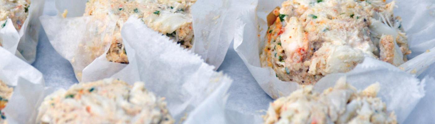 captn chuckys crab cakes slider