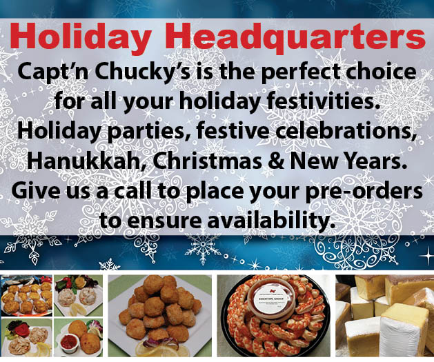 holiday party meals huntingdon valley